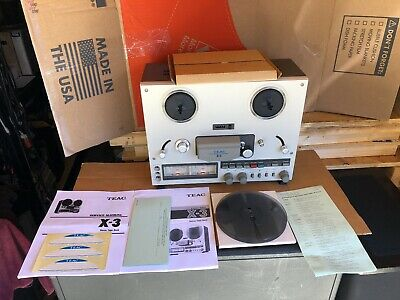 Teac X-3 Stereo Tape Recorder Reel To Reel