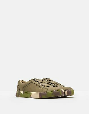 Joules Boys Parker Cupsole Trainers in MEDIUM KHAKI