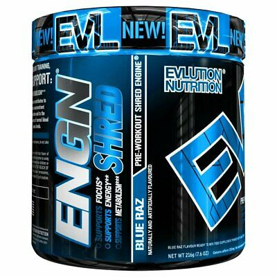 Evlution Nutrition ENGN SHRED Pre workout Thermogenic Fat Burner Powder, Energy