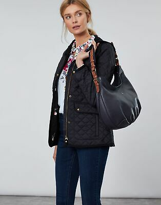 Joules Womens Aldbury Carriage Leather Hobo Bag in FRENCH NAVY in One Size