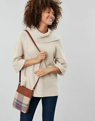 Joules Women Uxhall Tweed   Small Cross Body Pouch in  in One Size