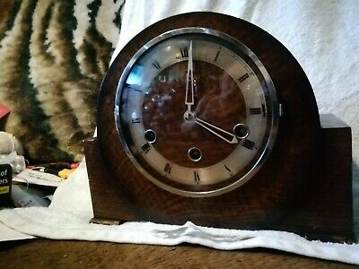 Foreign Mantel Clock - Key and Pendulum included ( haller  )