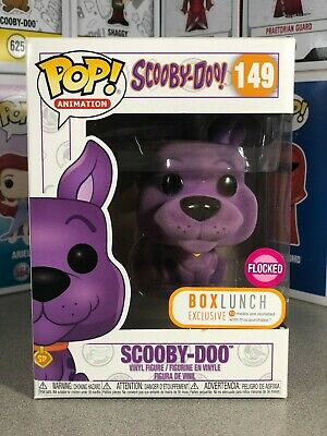Funko Pop! Animation - Scooby Doo Purple Flocked #149 BoxLunch Exclusive NIB