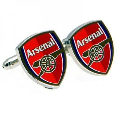 Arsenal Fc Cufflinks Silver Football Club Crests Soccer Team Fan The Gunners New