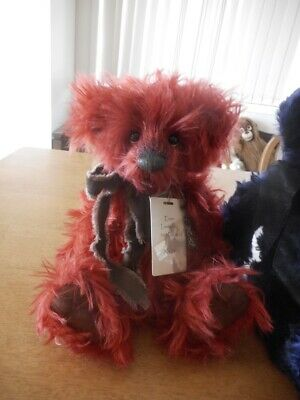 Charlie Bears Enzo Mohair Bear Limited To 500 World Wide Vgc