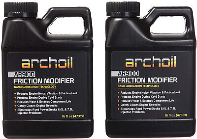 Archoil Friction Modifier VALUE PACK. TWO 16oz Bottles. Fast Shipping!