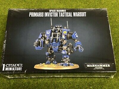 Space Marines - Primaris Invictor Tactical Warsuit - FREE SHIPPING