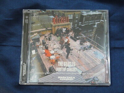 The Beatles Rooftop Concert Moonchild Records 2Cd Savile Row London Rock Pops