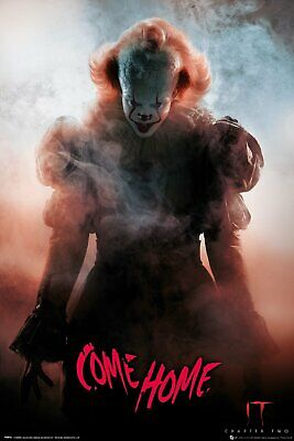 It Chapter 2 Come Home Pennywise Stephen King 91.5X61Cm  Poster New Official