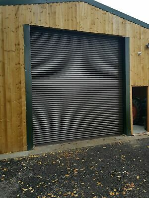 Industrial High Security Electric Roller Shutter Doors - Many Sizes Available