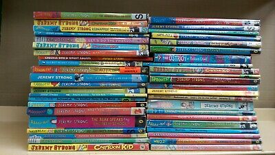 Jeremy Strong: collection of 44 children's fiction books