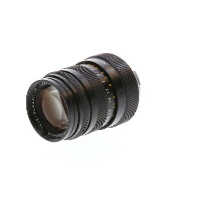 Leica 90mm F/2.8 Tele-Elmarit-M Black M Mount Lens {39}