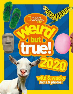 NEW Weird But True! 2020: Wild & Wacky Facts & Photos By National Geographic Kid