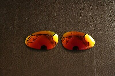 PolarLens POLARIZED Fire Red Replacement Lens for-Oakley Minute 1.0 Sunglasses