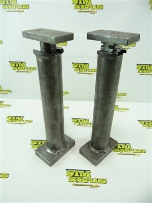 """Pair Of Ingersoll Machinists Jack Stands 12-3/4"""" To 22-3/4"""""""