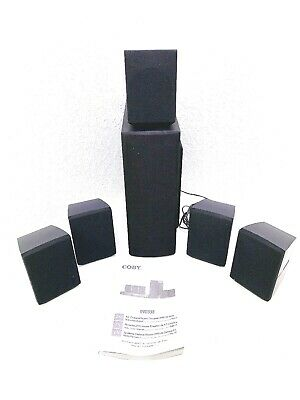 Coby DVD938 5.1 Channel Home Theater System