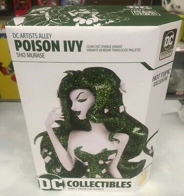DC Artist Alley Sho Murase POISON IVY Hot Topic Exclusive Variant Statue - NEW