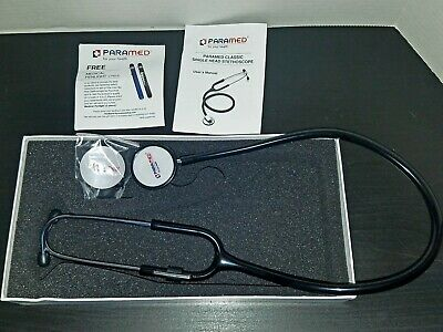 Classic Single Head Cardiology Stethoscope for Medical and Clinical Use Paramed