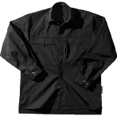 Fristads Overshirt Shirt SB-735-90 Size M Black New 2. Choice