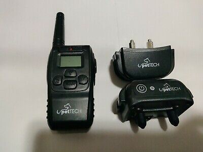 2 PetTech Dog Training Collar and a Remote As is