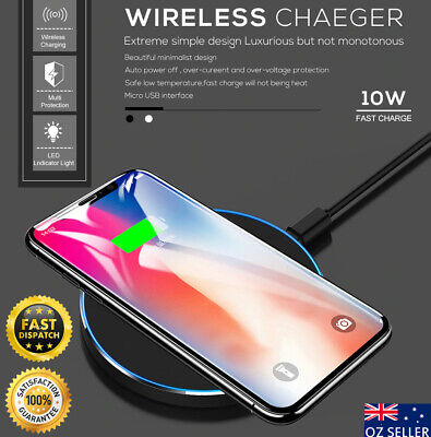 Wireless Charger Qi Fast Charging Receiver F Apple iPhone 11 / iPhone 11 Pro Max