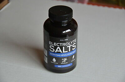 POLYFIT Electrolyte Salt Electrolytes Replacement Supplement for Rapid Hydration