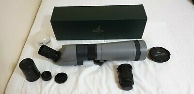 Swarovski Habicht AT80 HD Spotting Scope with 2 Lenses