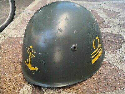 Elmetto m33 da ufficiale ww2 officer military helmet painted rank casco war rsi