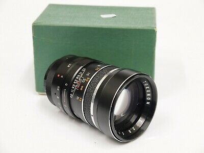 Tokunon 135mm F2.8 T2 Mount Lens with M42 Adapter & Box. Stock No u10467