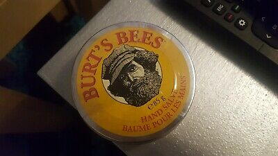 Burts Bees Hand Salve.100% Natural. Full Size 85G.new And Sealed.