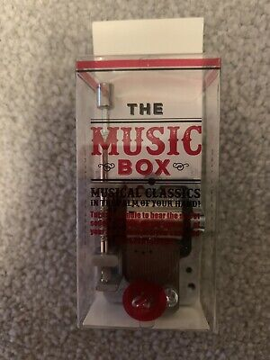 Antique Style Mini Music Box. Pocket Size. Unusual Gift. Wind Up.