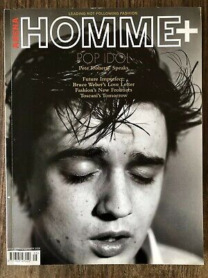 Homme Arena plus - spring/summer 05 - Pete Doherty - issue 23