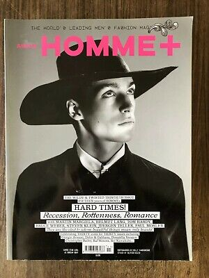 Homme Arena plus - winter/spring 08/09 - hard times - issue 30