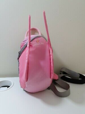 Little Life Toddler Backpack Reins Pink Butterfly Wings Bag Fairy