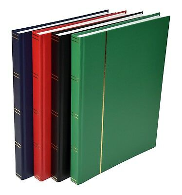 A4 Stock book with 16 White or 16 Black Pages - 50% OFF - From £5.25