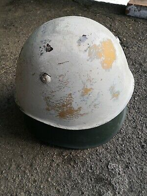Lotto Elmetti m33 lot of 2 military helmets ww2 Casco Casque guerra