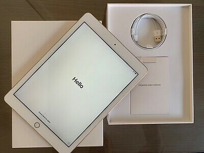 Apple iPad 5th Gen. 128GB, Wi-Fi, 9.7in - Gold **1 Month Old **