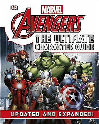 Marvel The Avengers: The Ultimate Character Guide HARDCOVER EDITION