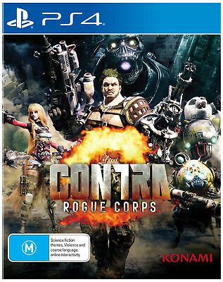 PREORDER - Contra: Rogue Corps  - PlayStation 4 game - BRAND NEW