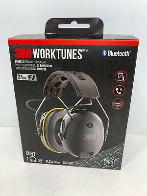 3M WorkTunes Connect Hearing Protector with Bluetooth Technology, Brand NEW!