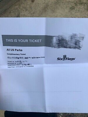 Six Flags tickets all park in US( Texas Georgia Great Adventure New England and.