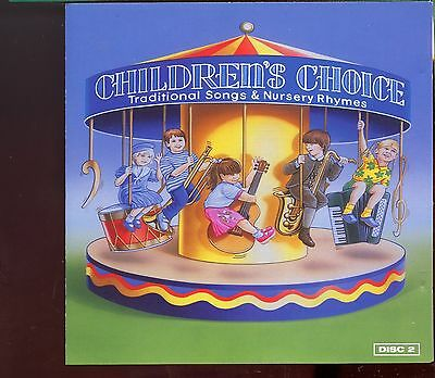 Children's Choice / Traditional Songs & Nursery Rhymes - Disc 2 - MINT