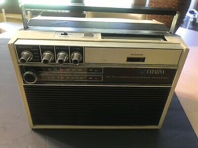 Catalina AM/FM Multiplex/8 Track Stereo Player