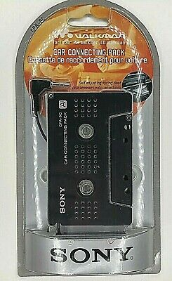 Sony Car Connection Pack Cassette Adapter CPA-9C for CD/MD Walkman New Sealed