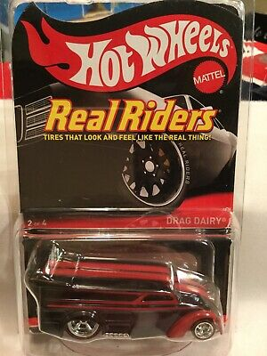 Hot Wheels RLC Real Riders Drag Dairy..