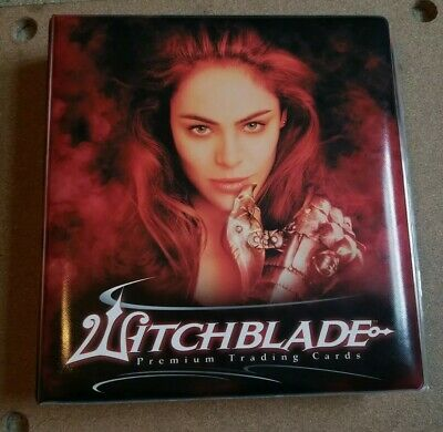 Witchblade Premium Trading Card Binder Card Lot Disciples Of Blade With Film