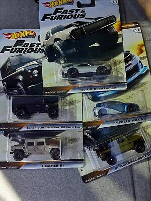 Hot wheels fast and furious 2019 Off Road