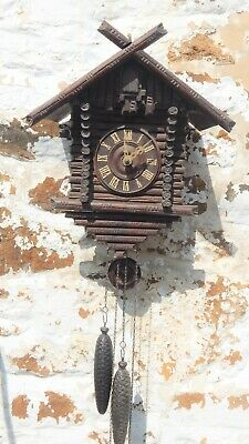 Good Antique Black Forest Cuckoo Clock –Circa 1910.