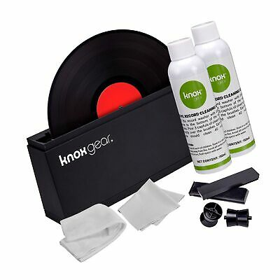 Knox Vinyl Record Cleaner Spin Kit – Washer Basin, Air Drying Rack, Cleaning ...
