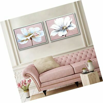 Large Modern Framed Wall Art Decor Flower Canvas Print Painting Picture with ...